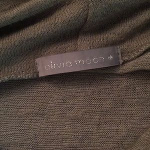 Olivia Moon Tops - 4 for $10 SALE Army green top!